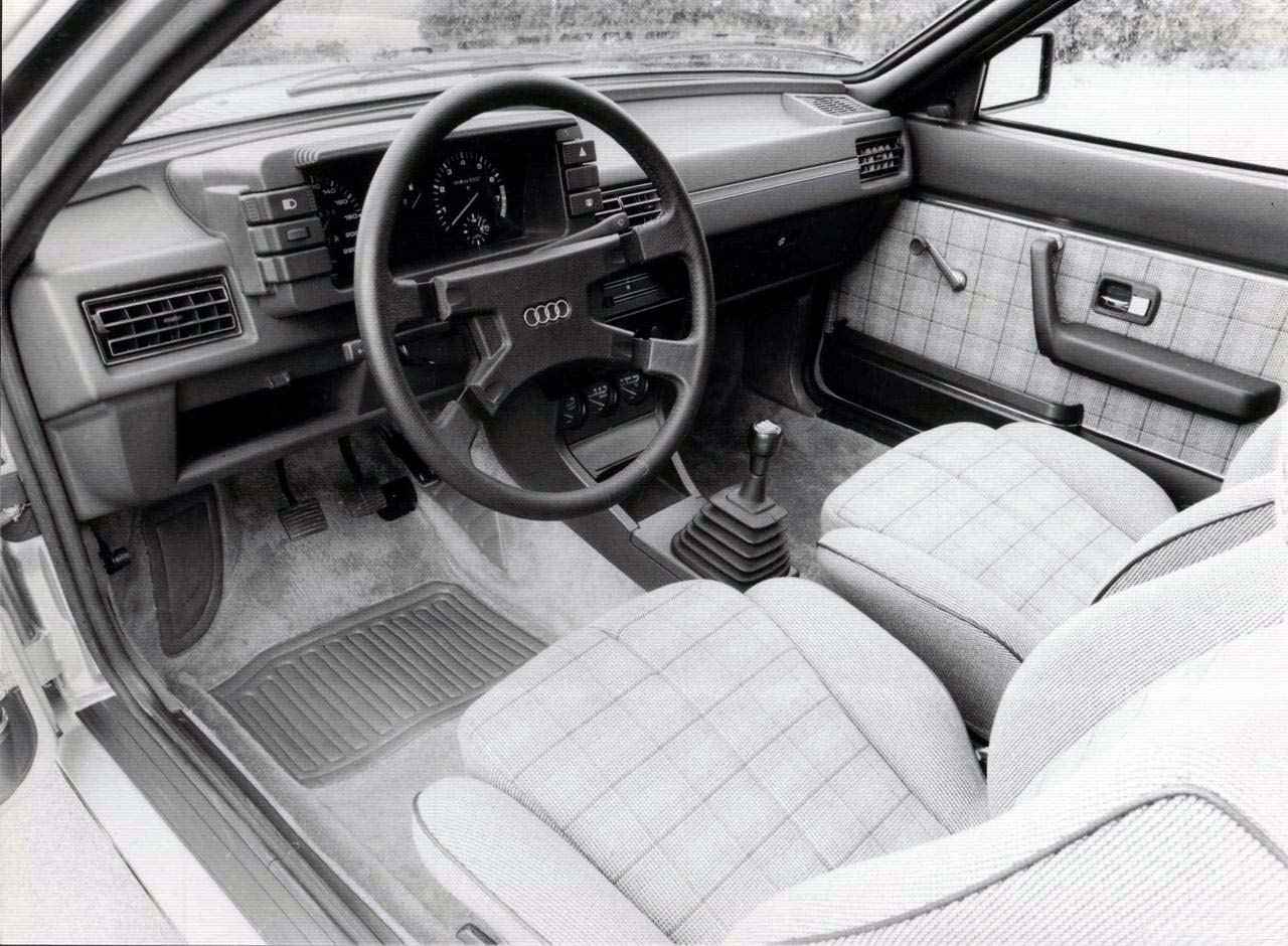 Audi coupe 1980 1987 for Audi 80 interieur