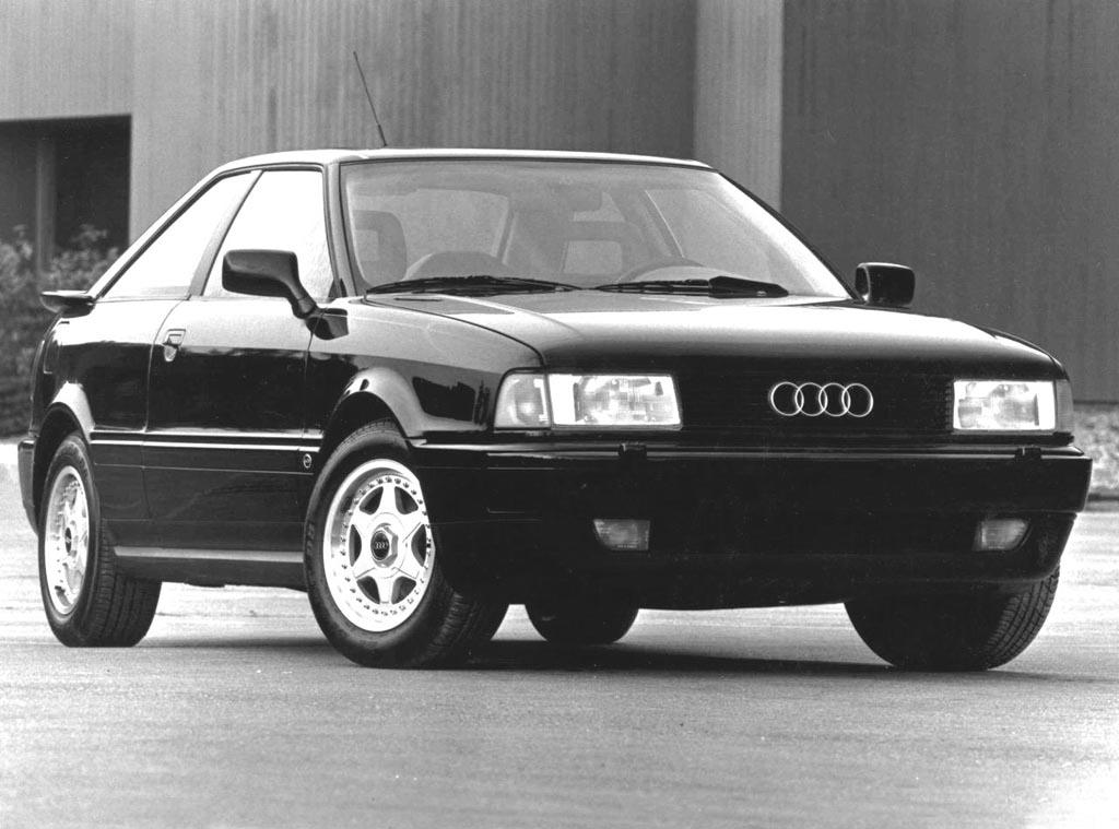 '89 Coupe quattro 20V (USA)