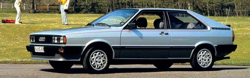 '81 Audi Coupe GT 5S (z opcjonalnym dwukolorowym malowaniem nadwozia)